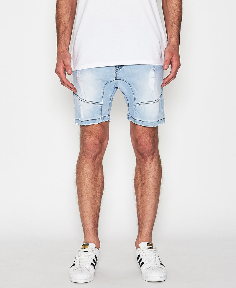 Nena And Pasadena - Flight Denim Short - Indianapolis