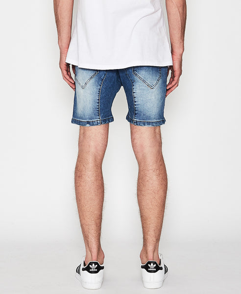 Flight Denim Short - Lincoln Blue