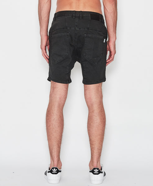 Flight Shorts - Washed Black