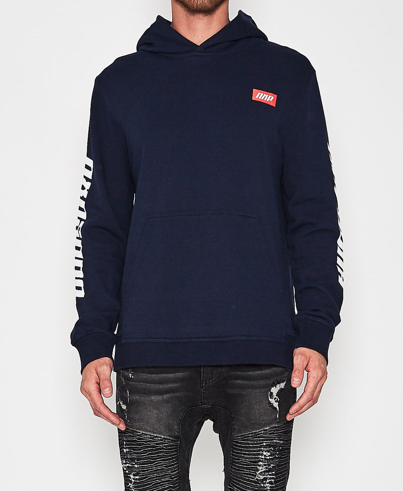 Nena And Pasadena - Supreme Hooded Sweat - Indigo