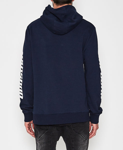 Supreme Hooded Sweat - Indigo