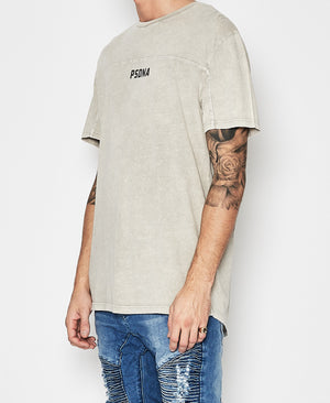 Nena And Pasadena - Selfish Scoop Back Tee - Stone