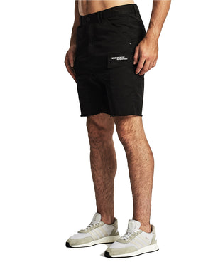 Nena And Pasadena - Sabre Cargo Short - Black