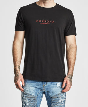 Nena And Pasadena - Zone Scoop Back Tee - Jet Black