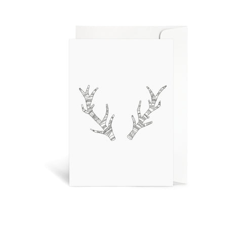 Aztec Antlers Card