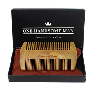 Double Action Beard Comb