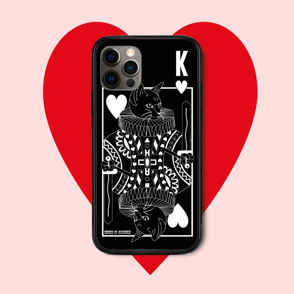 Original Design Phone Case - Poker Cat - Style E - House of Avenues - Designer Shoes | 香港 | 女鞋 House of Avenues