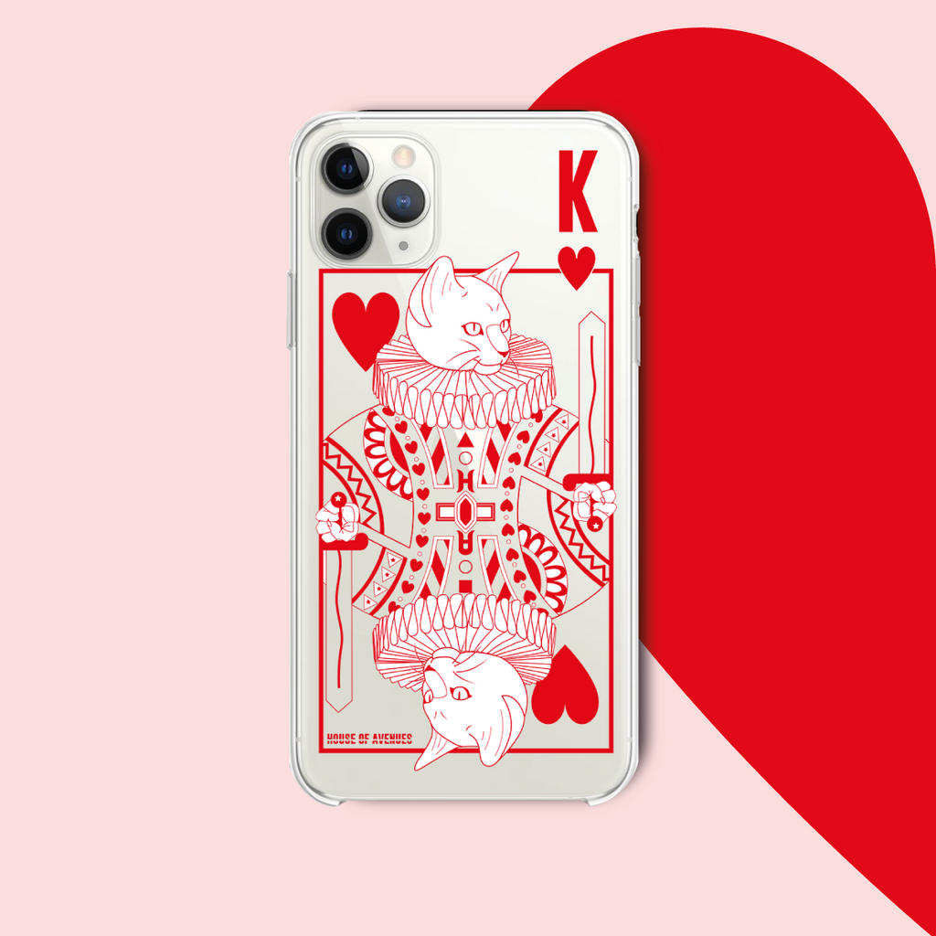 Original Design Phone Case - Poker Cat - Style A - House of Avenues - Designer Shoes | 香港 | 女鞋 House of Avenues