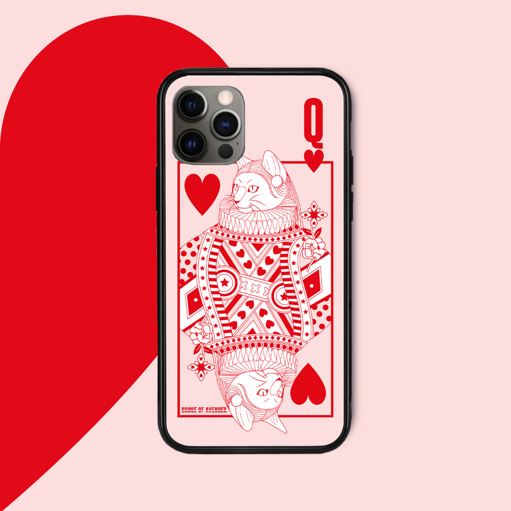Original Design Phone Case - Poker Cat - Style H - House of Avenues - Designer Shoes | 香港 | 女鞋 House of Avenues