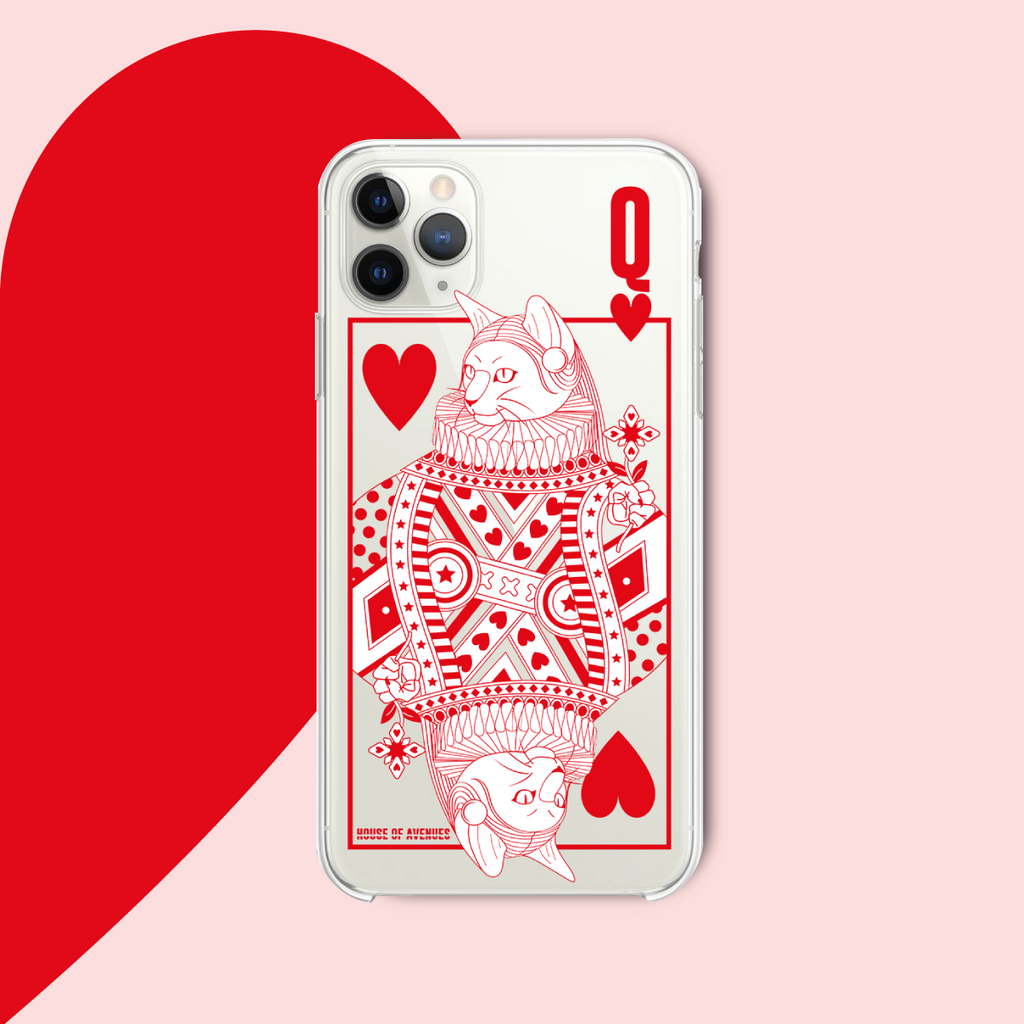 Original Design Phone Case - Poker Cat - Style B - House of Avenues - Designer Shoes | 香港 | 女鞋 House of Avenues