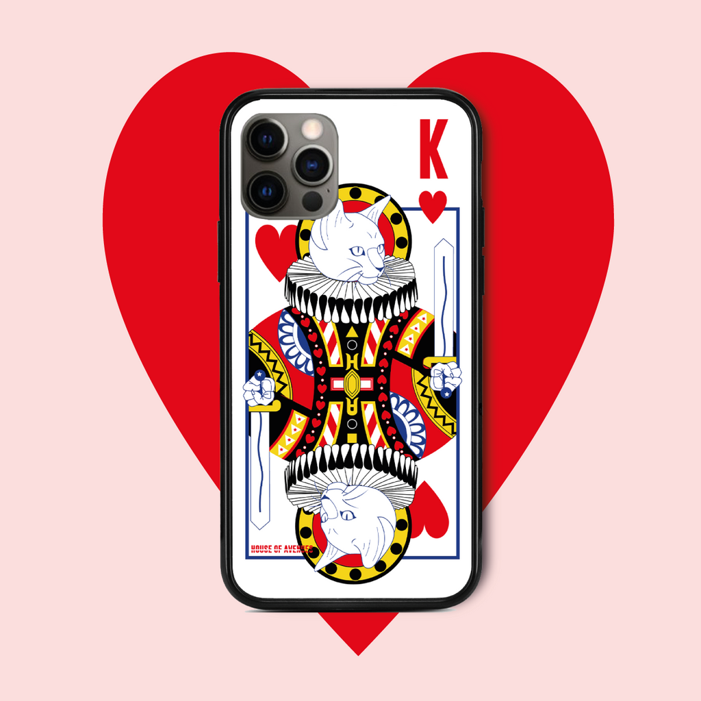 Original Design Phone Case - Poker Cat - Style C - House of Avenues - Designer Shoes | 香港 | 女鞋 House of Avenues