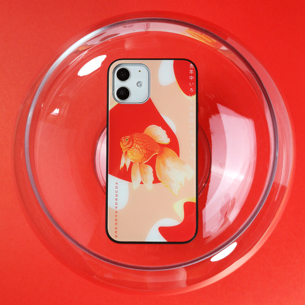 Original Design Phone Case - GoldFish - Style D - House of Avenues - Designer Shoes | 香港 | 女鞋 House of Avenues