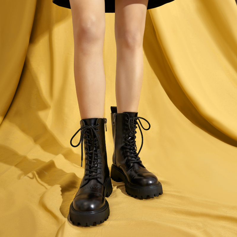Ladies Lace Up Bootie 5600 Black - House of Avenues - Designer Shoes | 香港 | 女鞋 House of Avenues