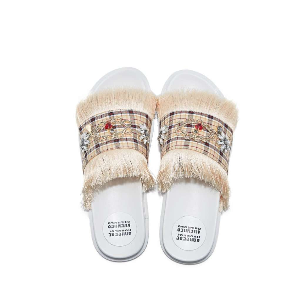 ORNAMENT TASSEL SLIPPER