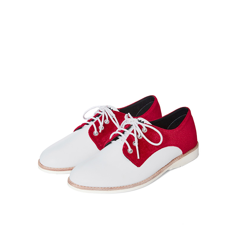 Ladies Casual Oxford HV02 Red - House of Avenues - Designer Shoes | 香港 | 女鞋 House of Avenues