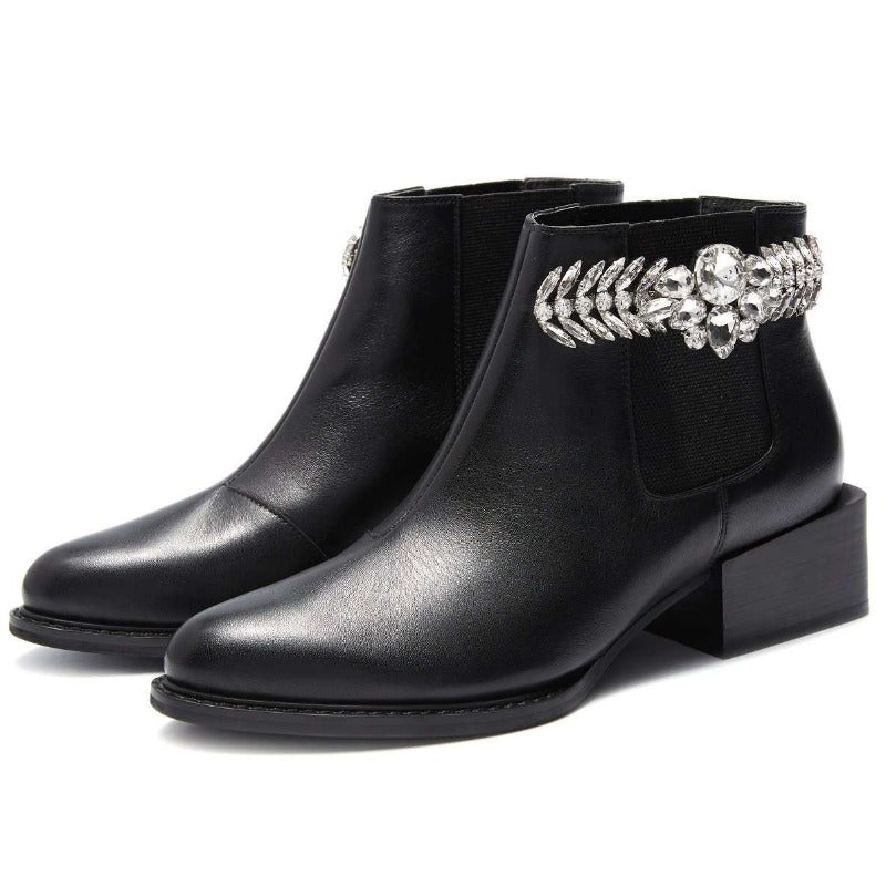 Ladies Retro Revivial Ornament Bootie 5199 - House of Avenues - Designer Shoes | 香港 | 女鞋 House of Avenues