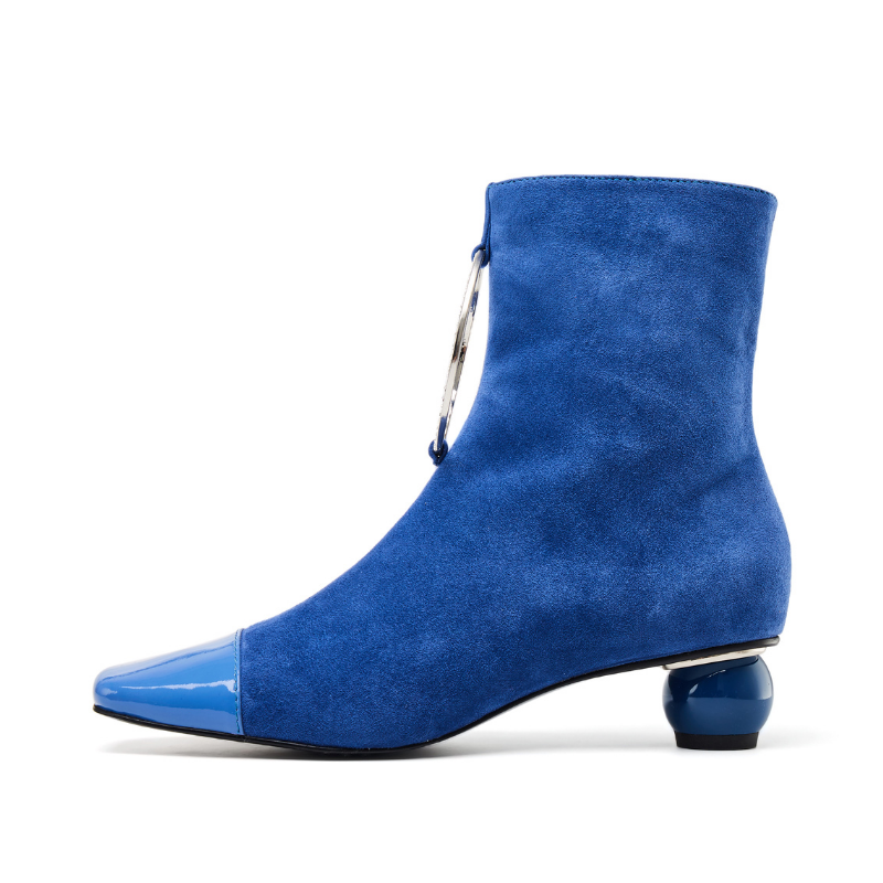 Ladies Ring Ankle Boots 5590 Blue - House of Avenues - Designer Shoes | 香港 | 女鞋 House of Avenues