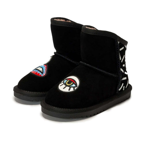 FOR HER ! Super Warm Snowboot 5432 (Black - Adult)