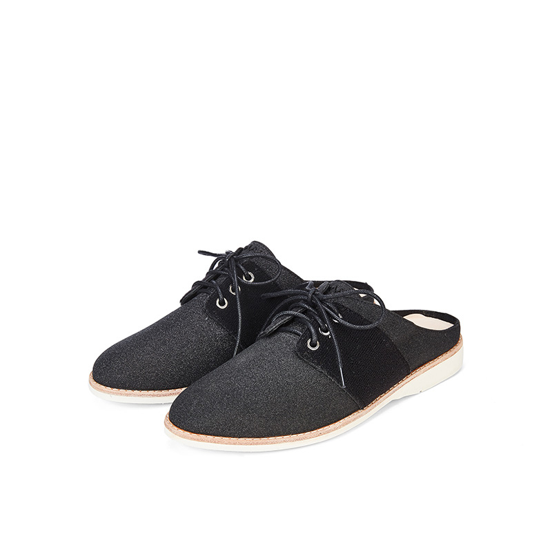 Ladies Casual Mule Style Oxford HV03 Black - House of Avenues - Designer Shoes | 香港 | 女鞋 House of Avenues
