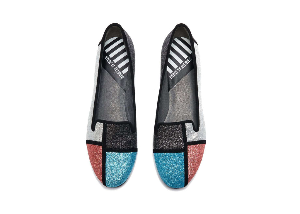 Patchwork Color Block Loafer 2822 - House of Avenues - Designer Shoes Online