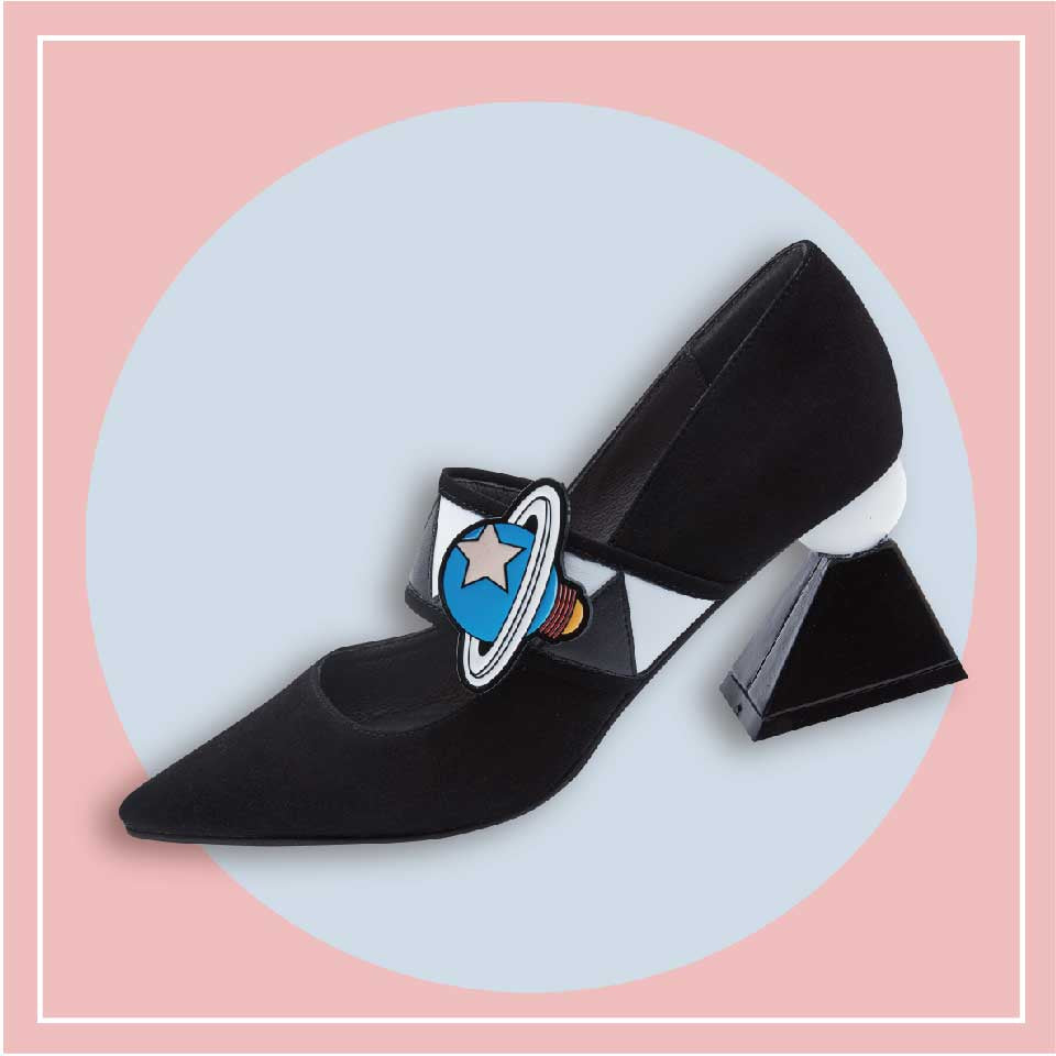 Another Planet Ladies' Mary Jane Heel Pumps 5144 - House of Avenues - Designer Shoes Online