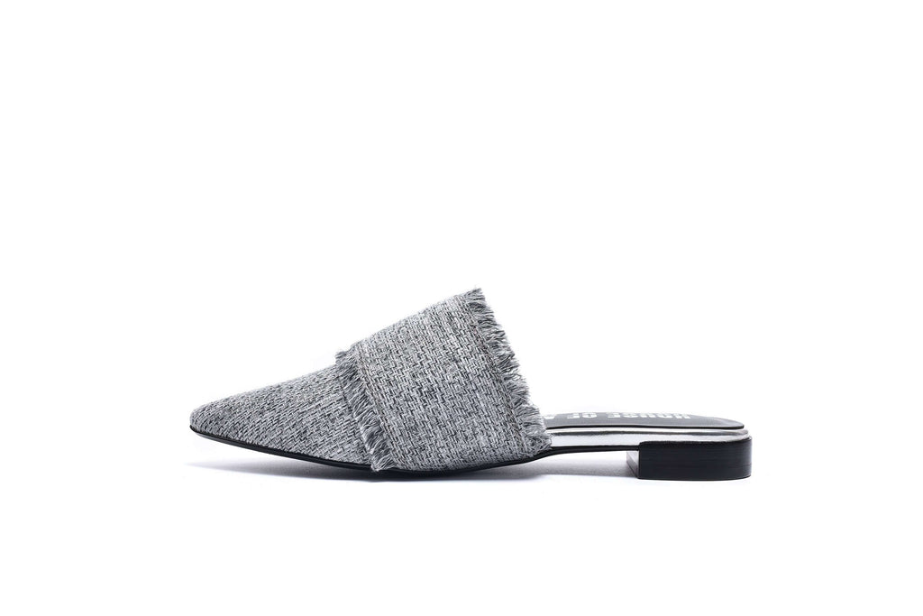 STREET SMART TWEED MULE SANDAL 5163 - House of Avenues - Designer Shoes | 香港 | 女鞋 House of Avenues