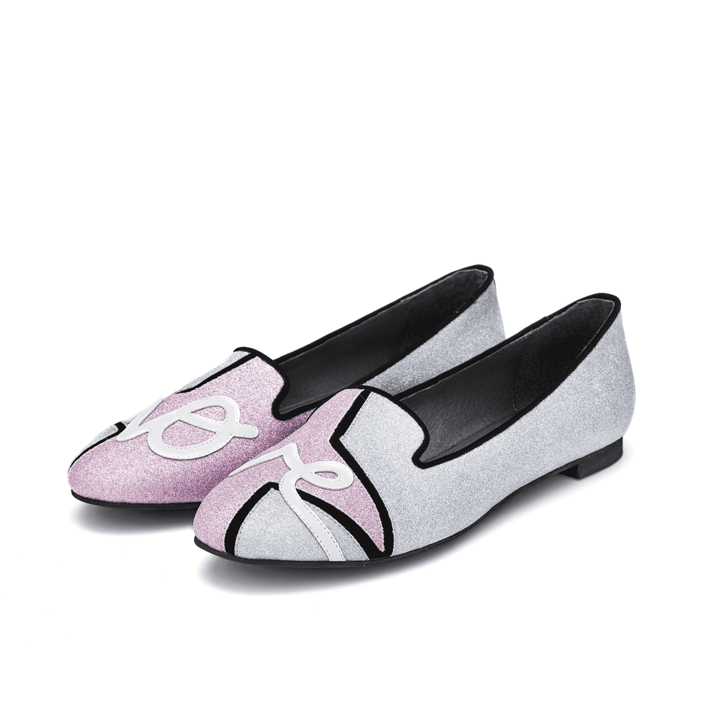 Ladies patchwork Asymmetric Round Loafer 4149 - House of Avenues - Designer Shoes | 香港 | 女鞋 House of Avenues