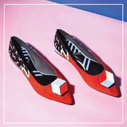 NEO MEMPHIS COLOR BLOCK FLAT 4425