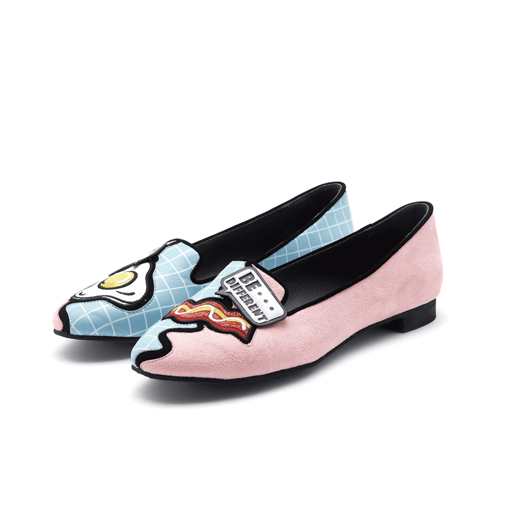 NEO MEMPHIS COLOR BLOCK LOAFER 4426 - House of Avenues - Designer Shoes | 香港 | 女鞋 House of Avenues