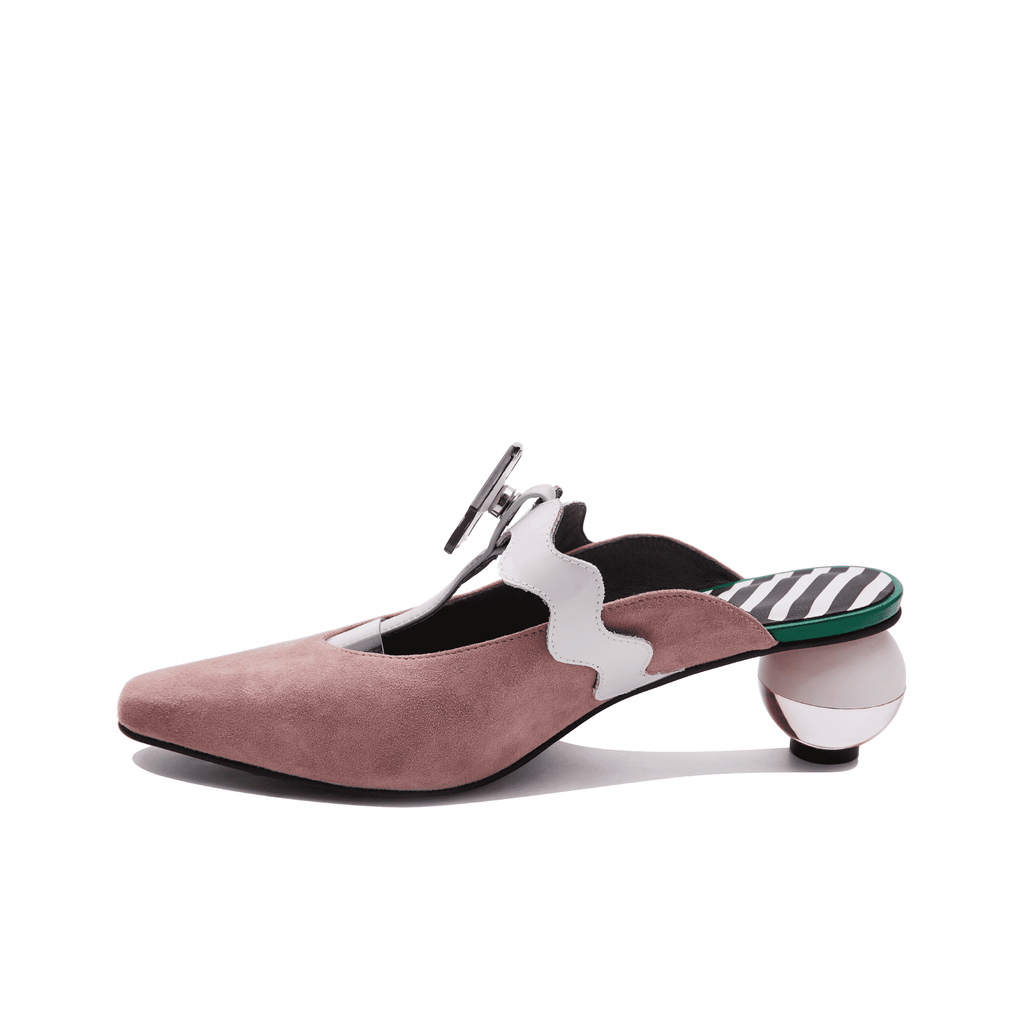 Another Planet Ladies' Suede Mule Sandal 5143 - House of Avenues - Designer Shoes | 香港 | 女鞋 House of Avenues