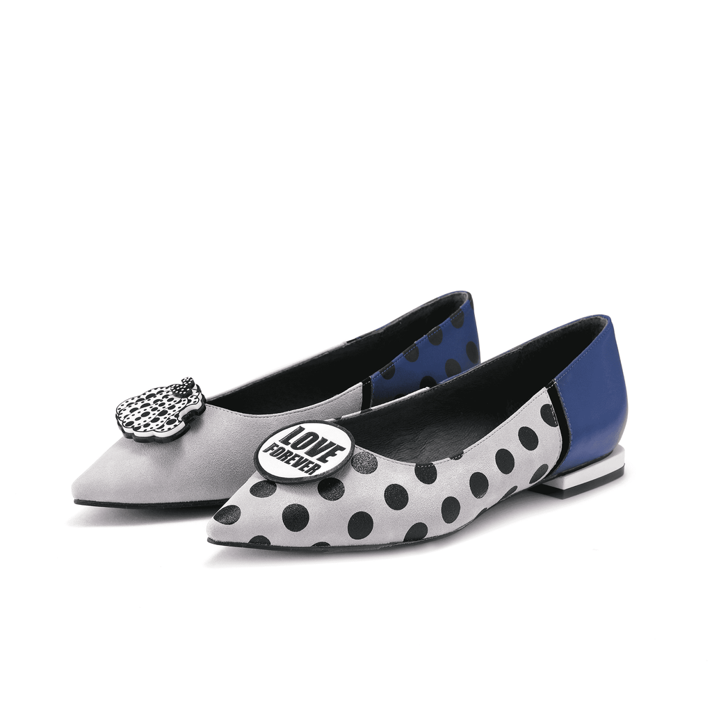 DOTS COLOR BLOCK FLAT 5150 - House of Avenues - Designer Shoes | 香港 | 女鞋 House of Avenues
