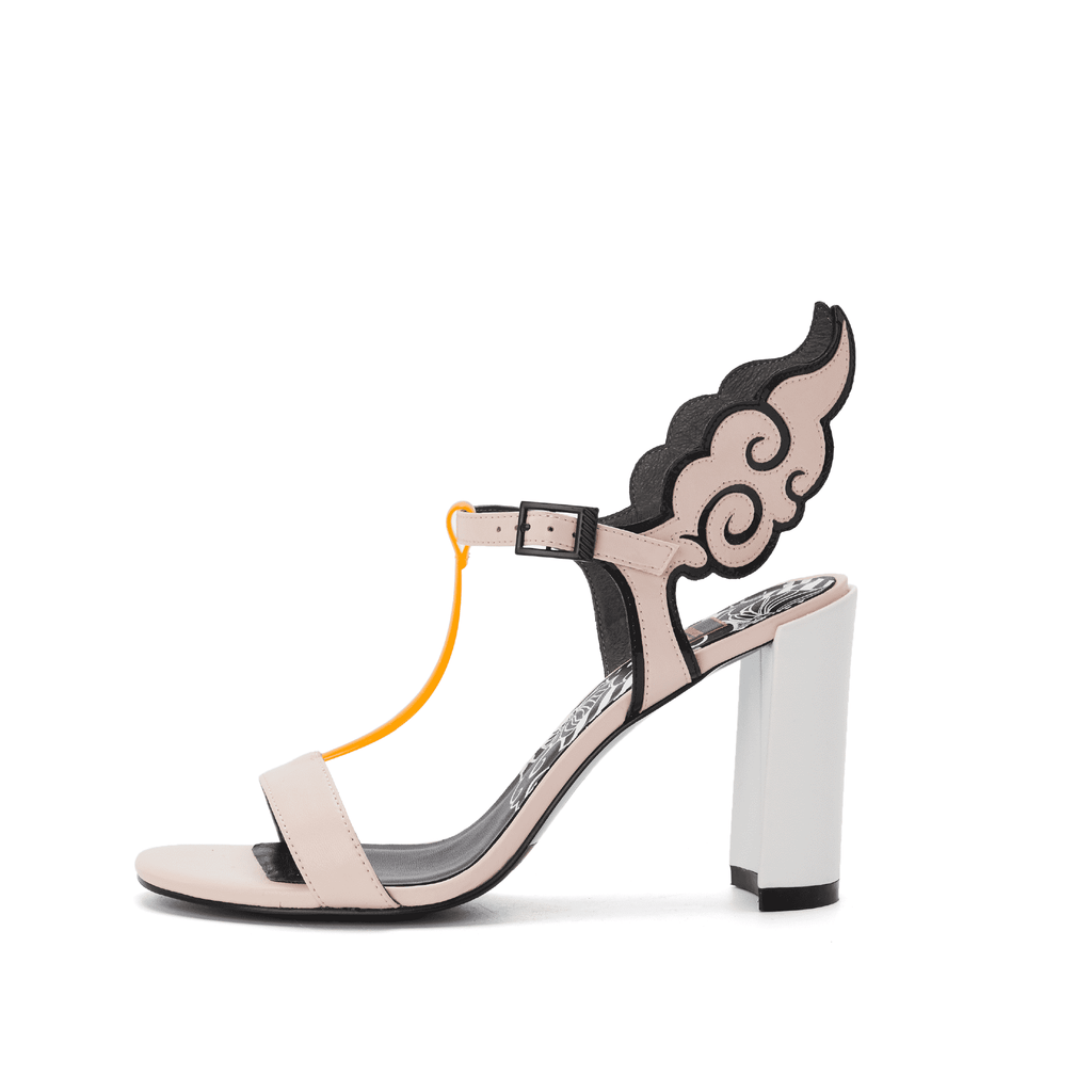 Ladies Ankle with Wings Heel Sandal 5247 Pink - House of Avenues - Designer Shoes | 香港 | 女鞋 House of Avenues