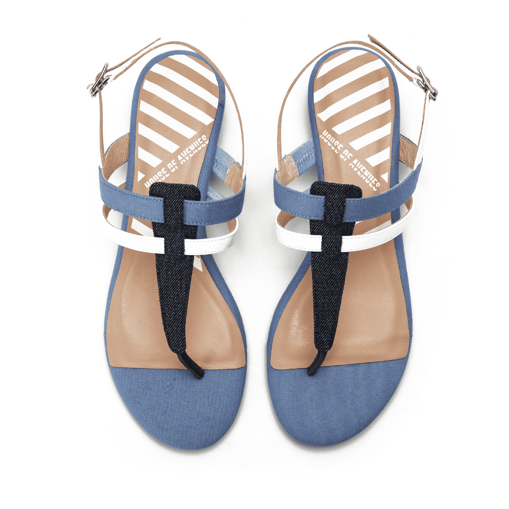 Flip Flop Style Flat Sandal 5321 - House of Avenues - Designer Shoes Online
