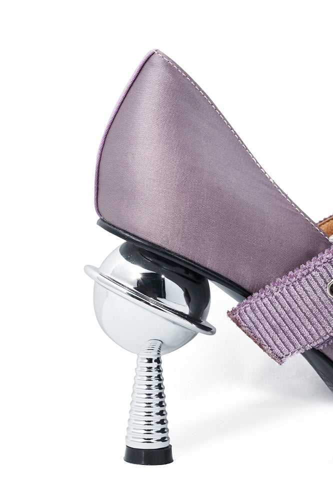 Live Within I Ladies' Mary Jane Heel Pumps 5375 Purple - House of Avenues - Designer Shoes | 香港 | 女鞋 House of Avenues