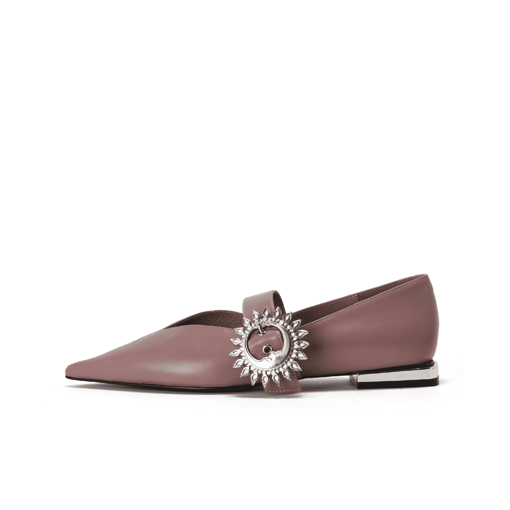 Ladies Mary Jane Flat Pumps 5421 Pink - House of Avenues - Designer Shoes | 香港 | 女鞋 House of Avenues
