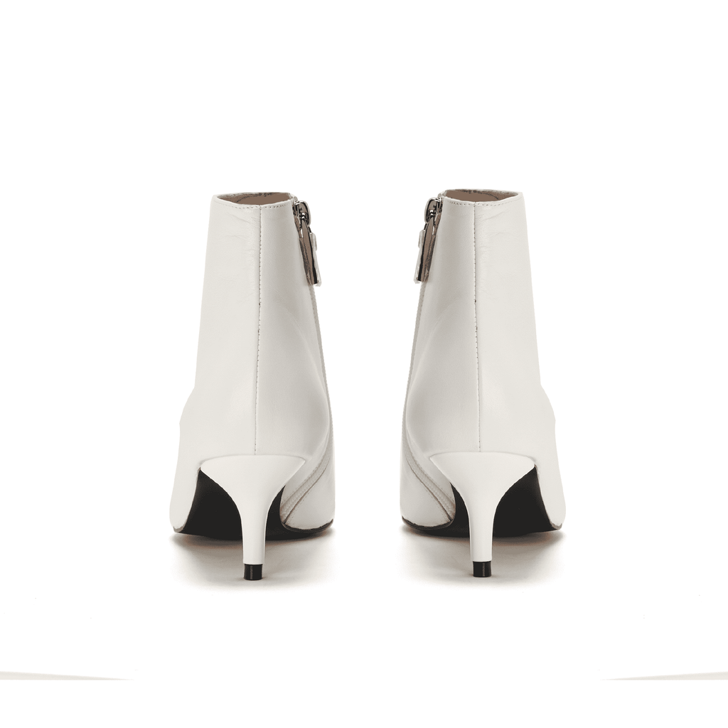 Ladies' Classic Ankle Boot 5422 White - House of Avenues - Designer Shoes | 香港 | 女鞋 House of Avenues