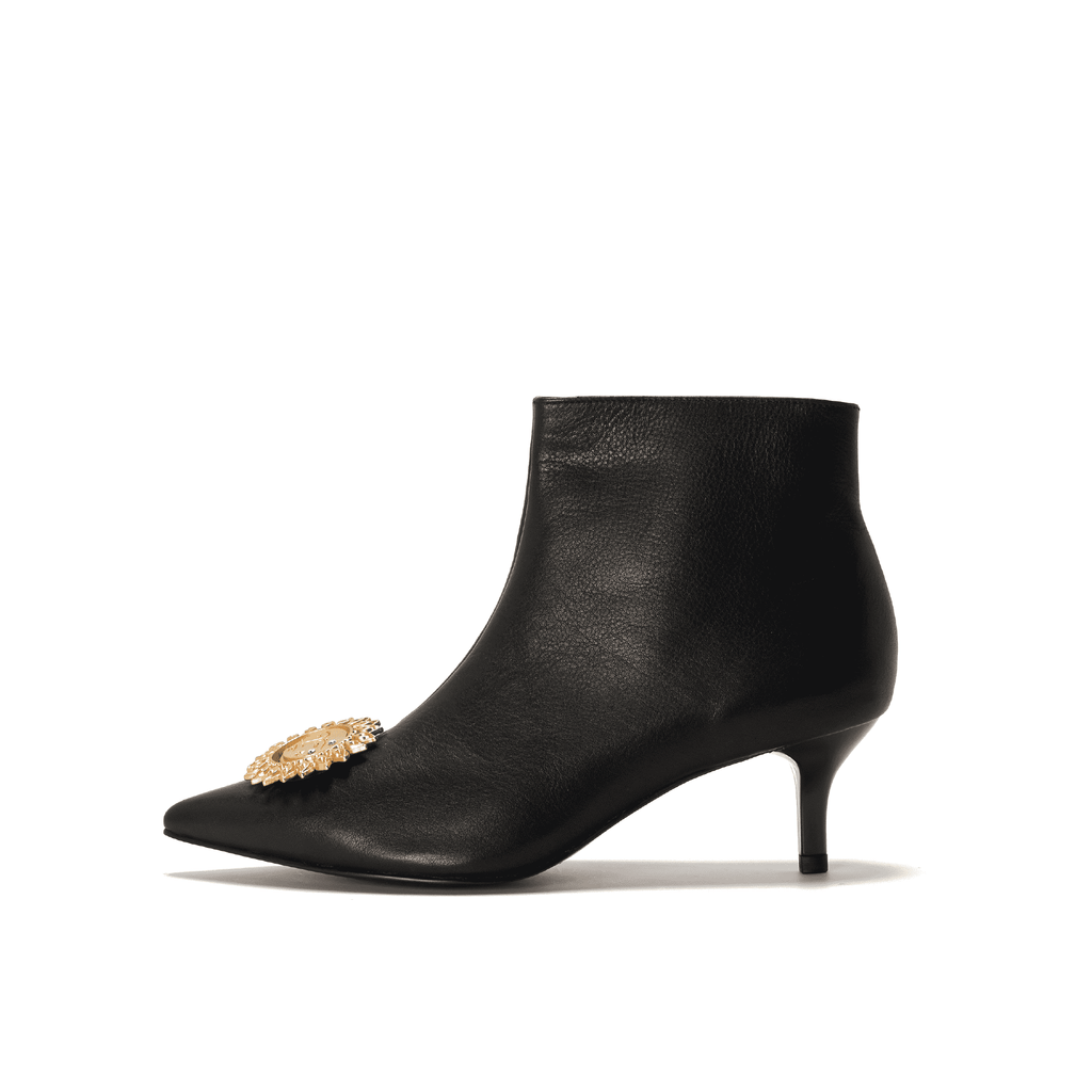 Live Within I  Ladies' Classic Ankle Boot 5422 Black - House of Avenues - Designer Shoes Online