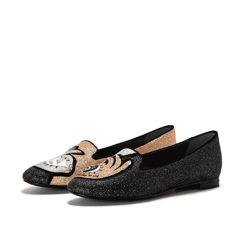BLING BLING CUTE LOAFER 5425 - House of Avenues - Designer Shoes Online