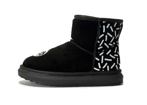 FOR KIDS ! Super Warm Snowboot 5433 (Black) (KIDS)