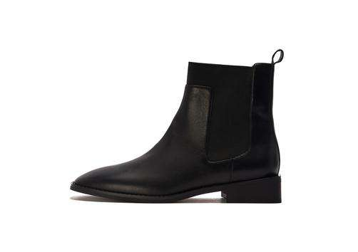 Square toe must have ankle bootie 5482 - House of Avenues - Designer Shoes Online