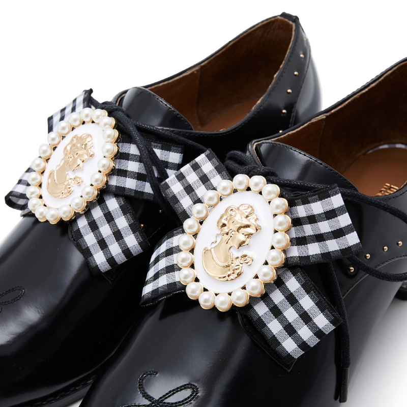 Ladies Retro Oxford 5555 Black - House of Avenues - Designer Shoes | 香港 | 女鞋 House of Avenues