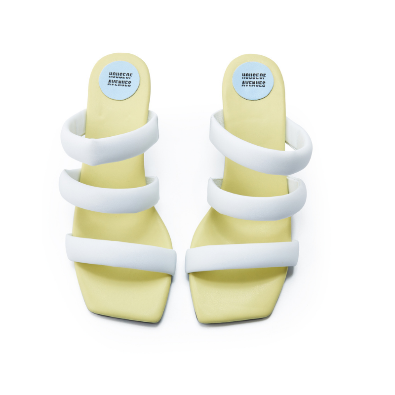 Ladies Strappy Heel Sandals 5620 Yellow - House of Avenues - Designer Shoes | 香港 | 女鞋 House of Avenues
