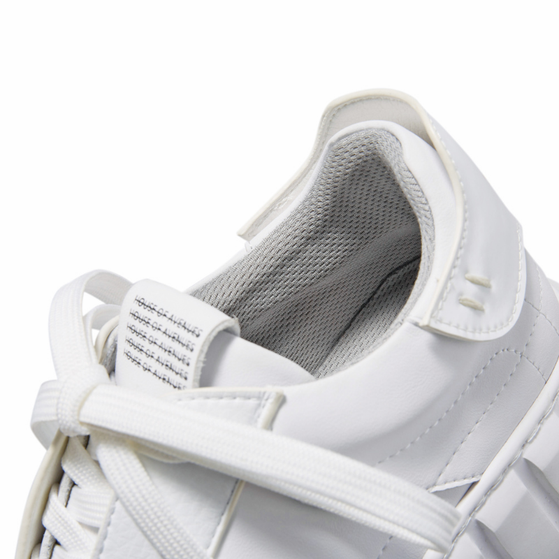 Ladies Lace Up Sneaker 5629 White - House of Avenues - Designer Shoes | 香港 | 女鞋 House of Avenues