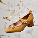 """ANOTHER PLANET"" Mary Jane Pump shoes 5144 - House of Avenues - Designer Shoes Online"