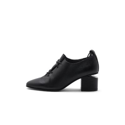Home Almond Toe Block Heel Oxford 4186 - House of Avenues - Designer Shoes Online