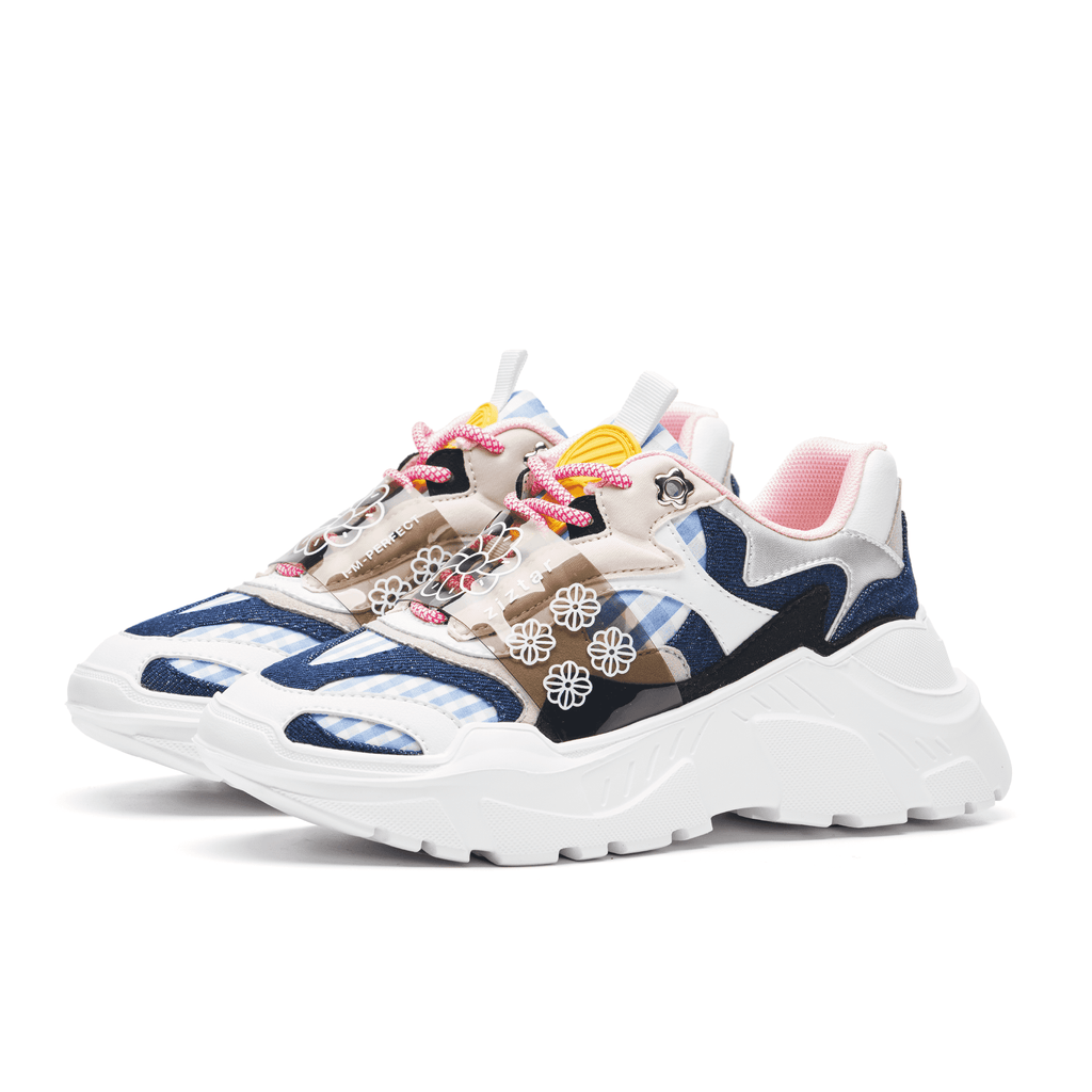 ZIZTAR x HOA Ladies' Floral Print Chunky Sneaker 5236 - House of Avenues - Designer Shoes | 香港 | 女鞋 House of Avenues