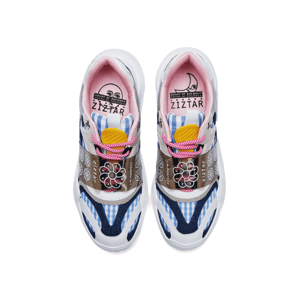 ZIZTAR x HOA Ladies' Floral Print Chunky Sneaker 5236 - House of Avenues - Designer Shoes Online
