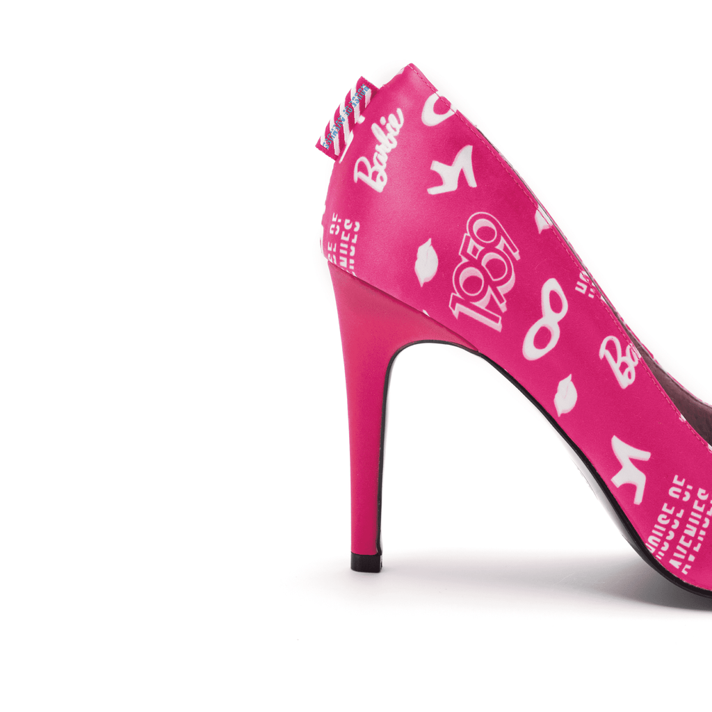Barbie x House Of Avenues Ladies' Allover Print Pinky Stiletto High Heel Pump 5333 - House of Avenues - Designer Shoes Online
