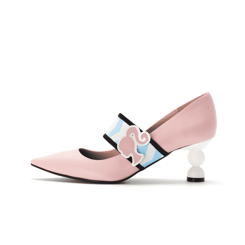 Barbie x House Of Avenues Ladies' Mary Jane Pumps 5335 - House of Avenues - Designer Shoes Online 香港女鞋網店
