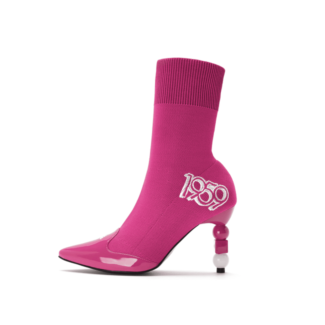 Barbie X House of Avenues 60th Anniversary Limited Edition Flyknit Bootie 5336 - House of Avenues - Designer Shoes Online